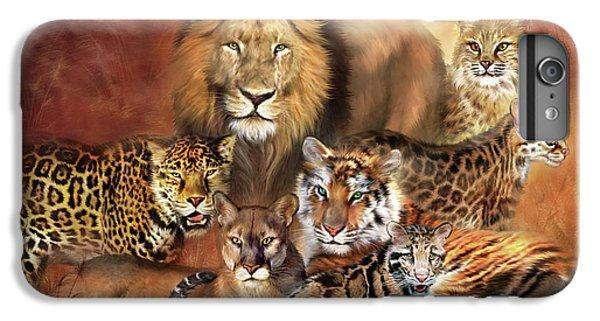Lion iPhone 6 Plus Case - Cat Power by Carol Cavalaris