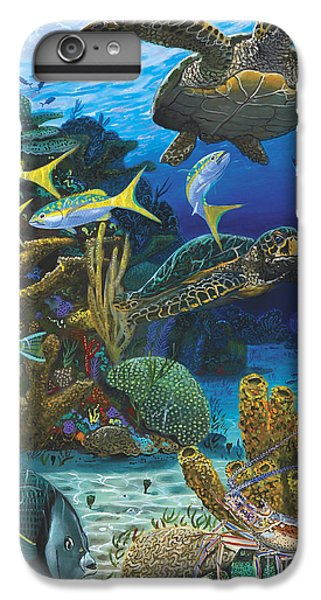 Cayman Turtles Re0010 IPhone 6 Plus Case by Carey Chen
