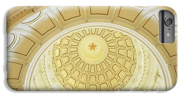 Ceiling Of The Dome Of The Texas State IPhone 6 Plus Case by Panoramic Images