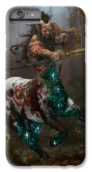Centaur Token IPhone 6 Plus Case by Ryan Barger