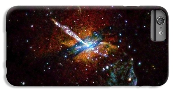 Centaurus A IPhone 6 Plus Case by Nasa/cxc/u.birmingham/m.burke Et Al