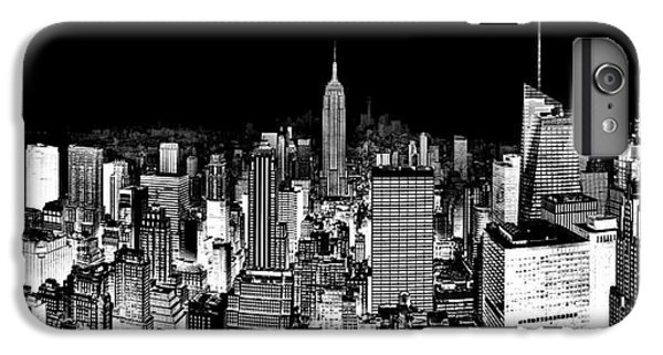 Empire State Building iPhone 6 Plus Case - Center Of The Universe by Az Jackson