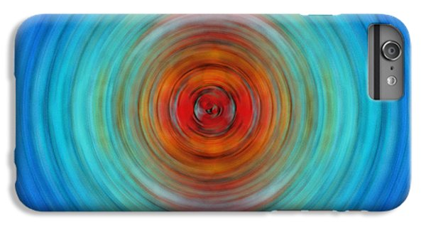 Center Point - Abstract Art By Sharon Cummings IPhone 6 Plus Case