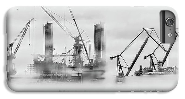 Crane iPhone 6 Plus Case - Change Of Shift by Margit Lisa Roeder