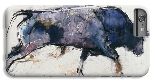 Charging Bull IPhone 6 Plus Case by Mark Adlington