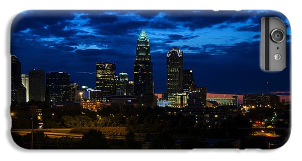 Charlotte North Carolina Panoramic Image IPhone 6 Plus Case