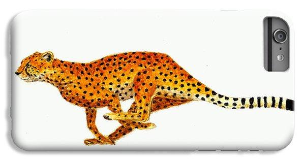 Cheetah IPhone 6 Plus Case by Michael Vigliotti