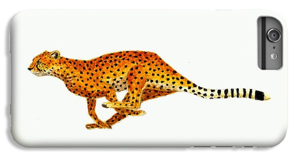 Cheetah IPhone 6 Plus Case by Michael Vigliotti
