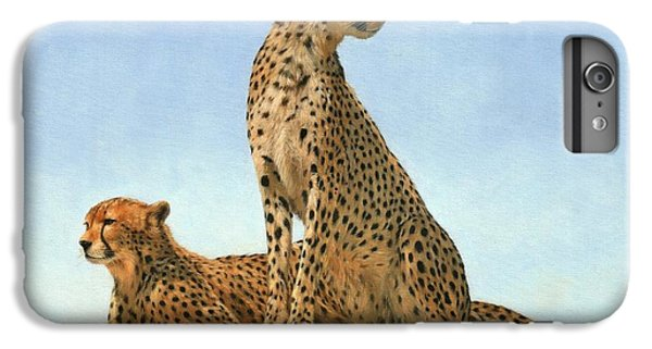 Cheetahs IPhone 6 Plus Case by David Stribbling
