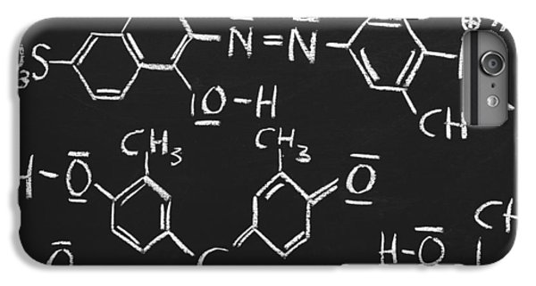 White iPhone 6 Plus Case - Chemical Formulas by Chevy Fleet