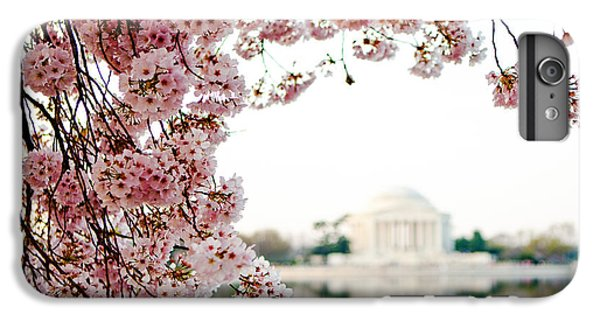Cherry Blossoms Framing The Jefferson Memorial IPhone 6 Plus Case