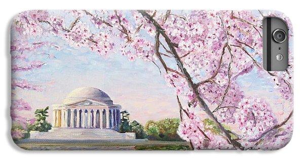 Jefferson Memorial Cherry Blossoms IPhone 6 Plus Case