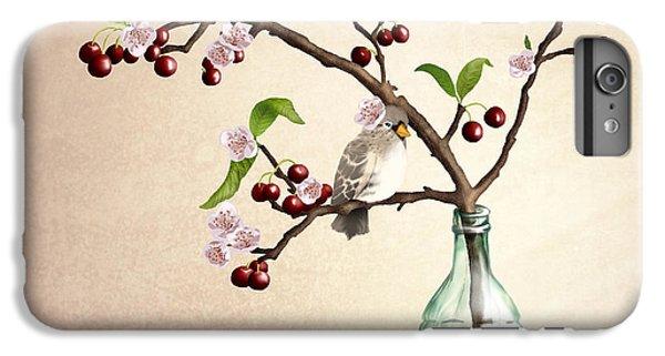 Finch iPhone 6 Plus Case - Cherry Coke by April Moen