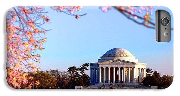 Jefferson Memorial iPhone 6 Plus Case - Cherry Jefferson by Olivier Le Queinec