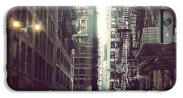 Architecture iPhone 6 Plus Case - Chicago Alleyway by Jill Tuinier