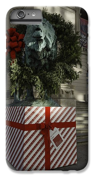 Chicago Art Institute Lion IPhone 6 Plus Case by Sebastian Musial