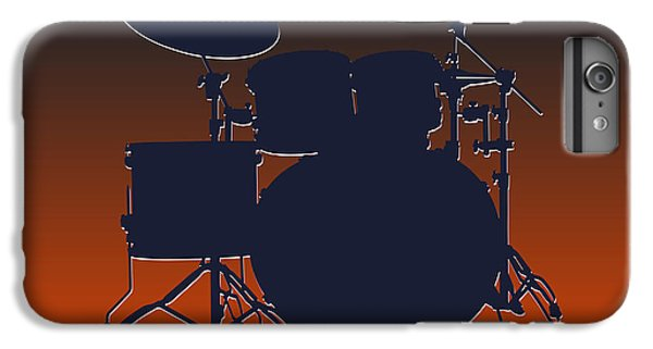 Chicago Bears Drum Set IPhone 6 Plus Case by Joe Hamilton