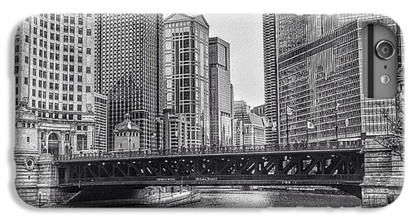 Architecture iPhone 6 Plus Case - #chicago #blackandwhite #urban by Paul Velgos