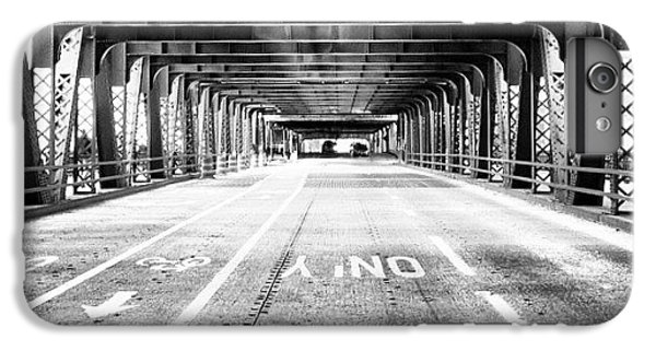 Architecture iPhone 6 Plus Case - Chicago Wells Street Bridge Picture by Paul Velgos