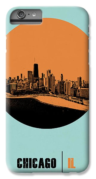 Sears Tower iPhone 6 Plus Case - Chicago Circle Poster 2 by Naxart Studio