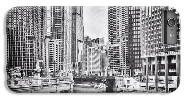 City iPhone 6 Plus Case - #chicago #cityscape #chicagoriver by Paul Velgos
