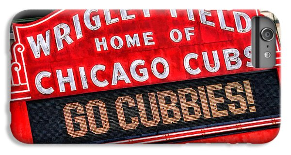 Chicago Cubs Wrigley Field IPhone 6 Plus Case by Christopher Arndt