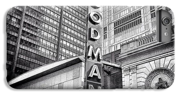 Architecture iPhone 6 Plus Case - Chicago Goodman Theatre Sign Photo by Paul Velgos