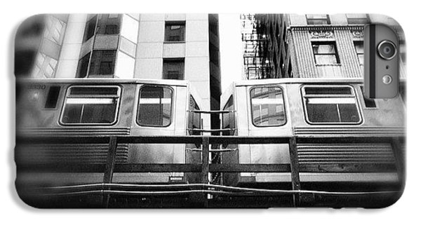 Chicago L Train In Black And White IPhone 6 Plus Case