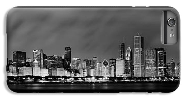 Chicago Panorama At Night IPhone 6 Plus Case by Sebastian Musial
