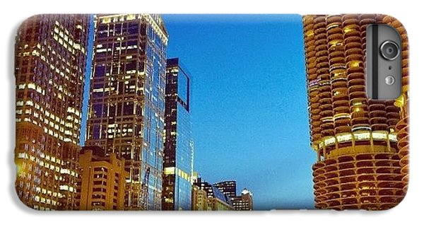 City iPhone 6 Plus Case - Chicago River Buildings At Night Taken by Paul Velgos