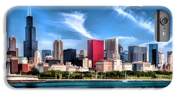 Chicago Skyline Panorama IPhone 6 Plus Case