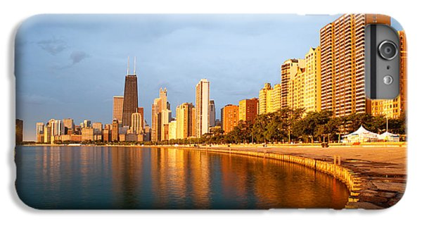 Chicago Skyline IPhone 6 Plus Case by Sebastian Musial
