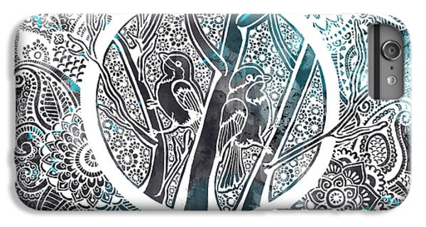 Decorative iPhone 6 Plus Case - Chickadees by Andrea Stephenson
