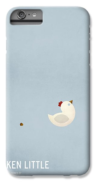 Chicken Little IPhone 6 Plus Case by Christian Jackson