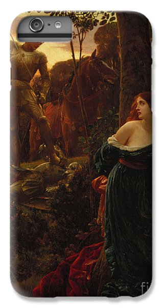Fantasy iPhone 6 Plus Case - Chivalry by Sir Frank Dicksee