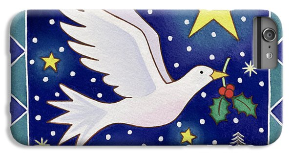 Christmas Dove  IPhone 6 Plus Case by Cathy Baxter