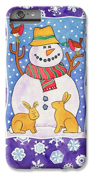 Christmas Snowflakes IPhone 6 Plus Case