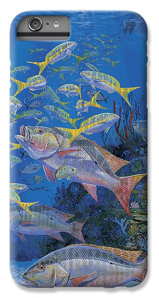 Salmon iPhone 6 Plus Case - Chum Line Re0013 by Carey Chen