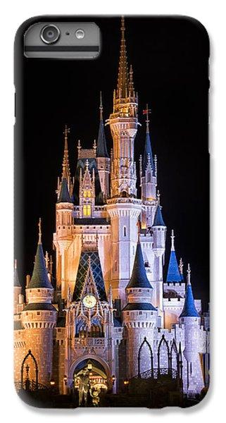 Cinderella's Castle In Magic Kingdom IPhone 6 Plus Case