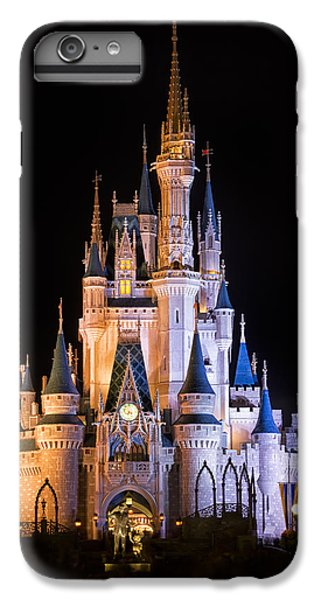 Cinderella's Castle In Magic Kingdom IPhone 6 Plus Case