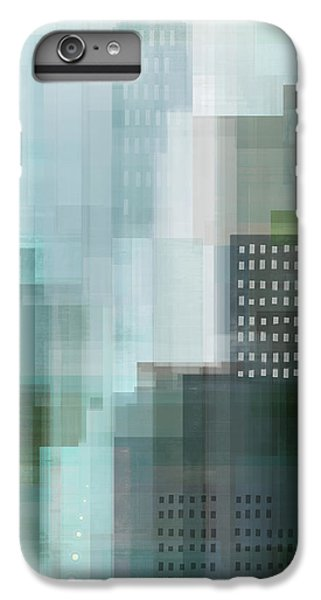 City Scenes iPhone 6 Plus Case - City Emerald by Dan Meneely