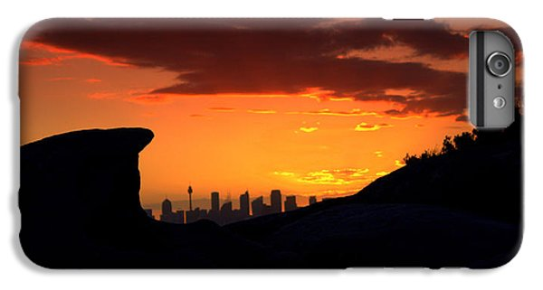 IPhone 6 Plus Case featuring the photograph City In A Palm Of Rock by Miroslava Jurcik