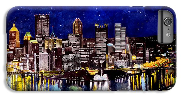 Pegasus iPhone 6 Plus Case - City Of Pittsburgh At The Point by Christopher Shellhammer