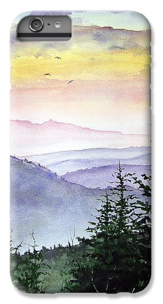 Mountain iPhone 6 Plus Case - Clear Mountain Morning II by Sam Sidders