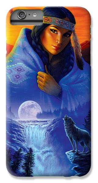 Cloak Of Visions Portrait IPhone 6 Plus Case by Andrew Farley