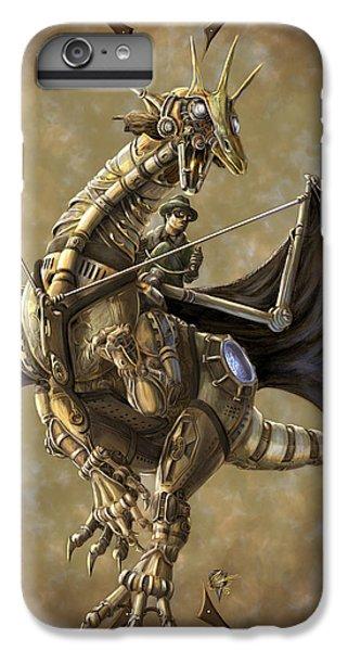 Dragon iPhone 6 Plus Case - Clockwork Dragon by Rob Carlos