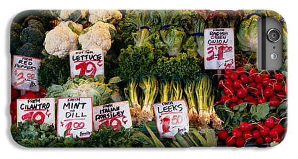 Close-up Of Pike Place Market, Seattle IPhone 6 Plus Case by Panoramic Images