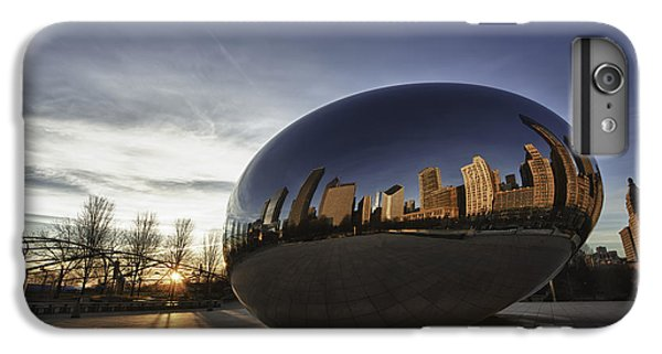 Cloud Gate At Sunrise IPhone 6 Plus Case by Sebastian Musial