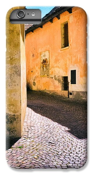 IPhone 6 Plus Case featuring the photograph Cobbled Street by Silvia Ganora