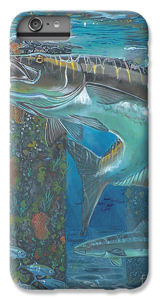 Cobia Strike In0024 IPhone 6 Plus Case by Carey Chen